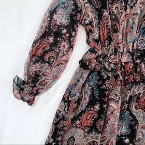 Banana Republic Dresses - PXXS Banana Republic Olivia Palermo Paisley Dress